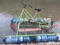 Wahana sepeda air yang tengah naik daun (Pradito/detikcom)