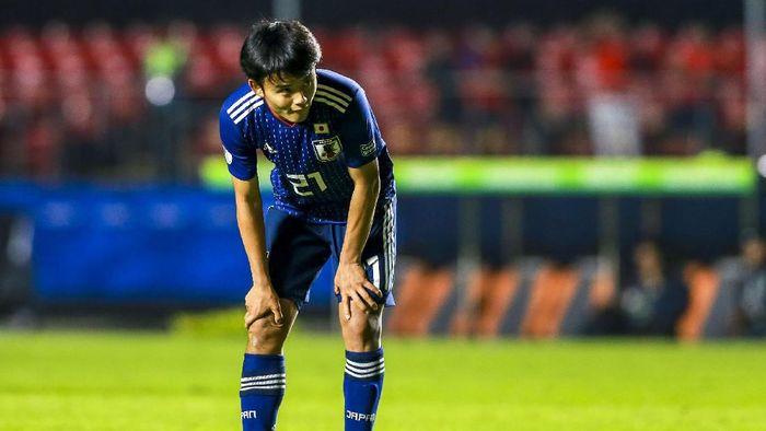 Takefusa Kubo tak suka menjadi sorotan. (Foto: Alessandra Cabral/Getty Images)