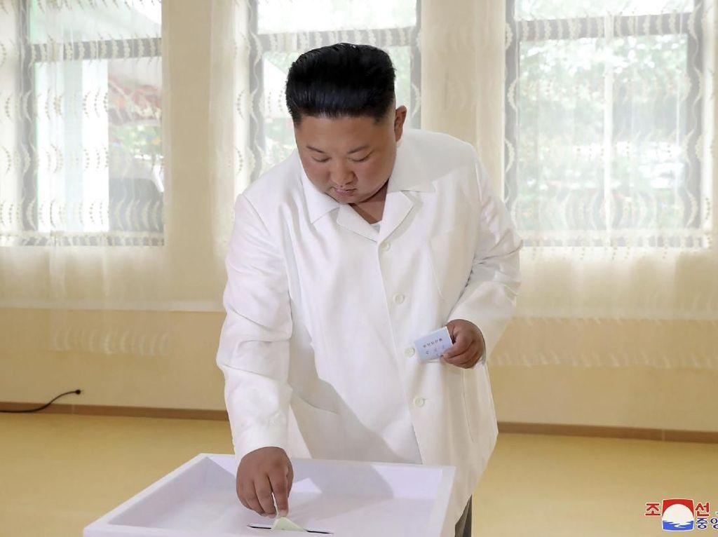 Pemilu Daerah Korut Diikuti 99,98 % Pemilih, Kim Jong-Un Ikut Memilih