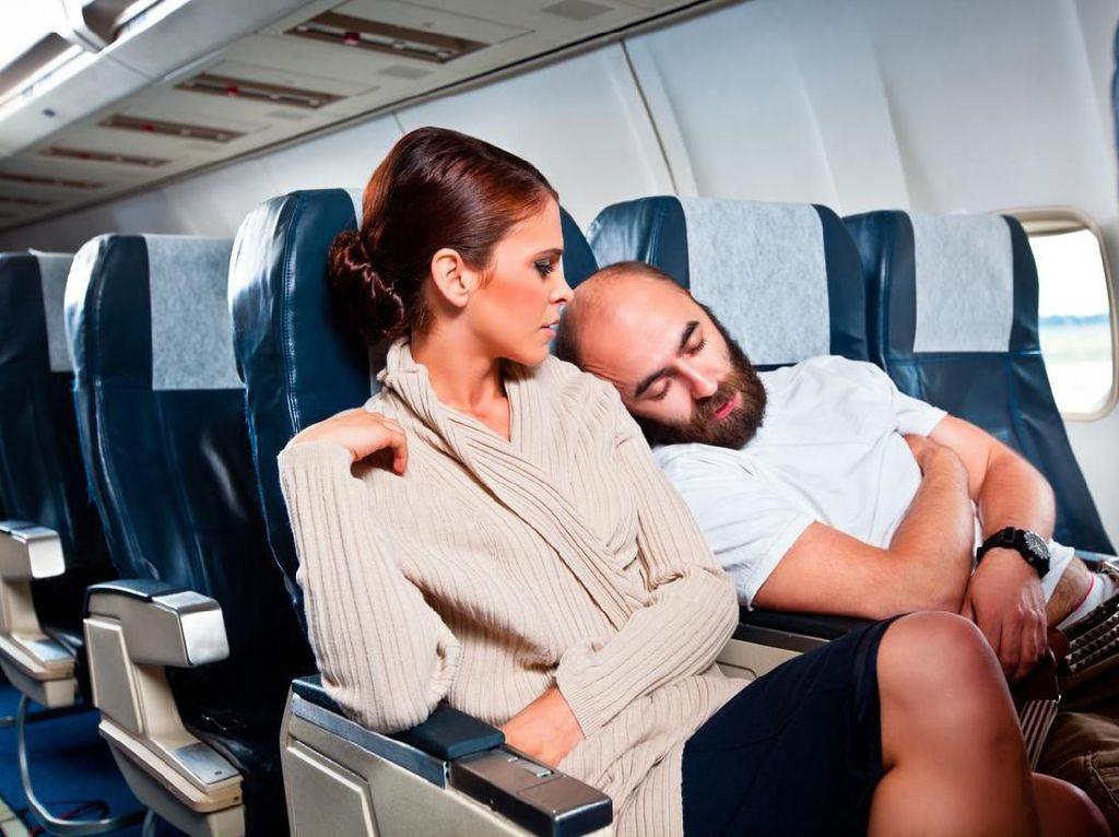 Pelecehan Seksual di Pesawat Tak Pandang Bulu