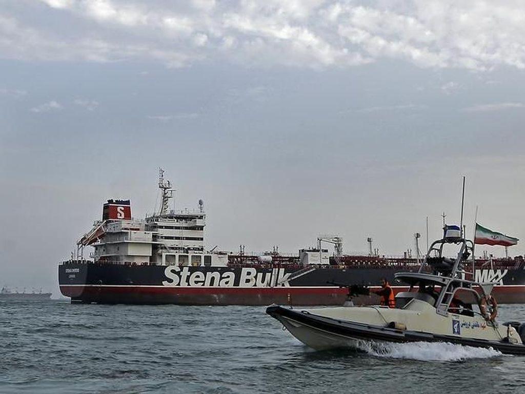 Tankernya Ditahan Iran, Kabinet Keamanan Inggris COBRA Gelar Rapat Darurat