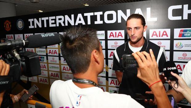 Adrien Rabbiot salah satu pemain gratisan yang di dapat Juventus di awal musim ini.