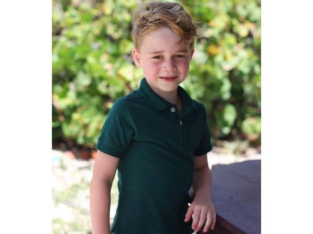 Pangeran George Pakai Baju Murah di Foto Ultah ke-6