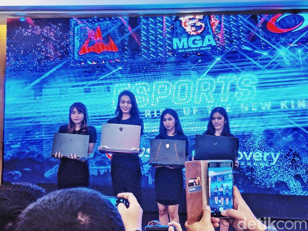Tiga Laptop Gaming Serbu Indonesia
