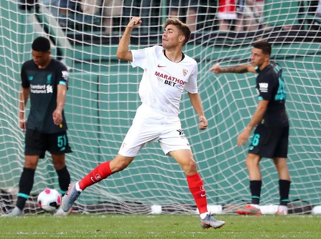 Sevilla Vs Liverpool: The Reds Takluk dari 10 Pemain Los Rojiblancos