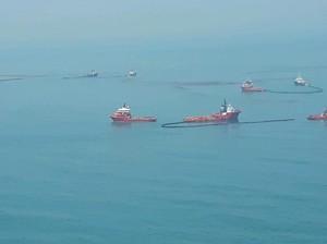 ESDM Sebut Tumpahan Minyak di Laut Karawang karena Ledakan Prematur