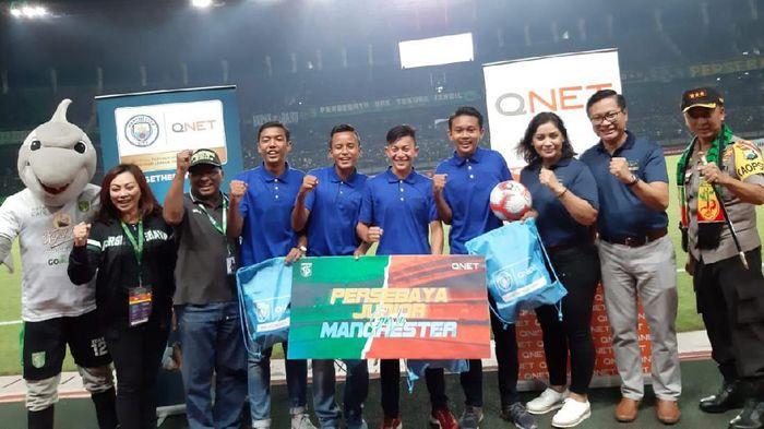 Persebaya Surabaya akan kirim empat anak didik ke Manchester City. (Foto: Istimewa)