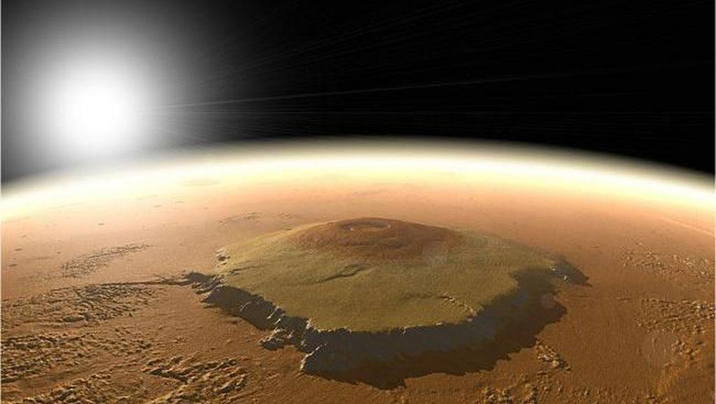 Penampakan Permukaan Mars yang Menakjubkan Mata