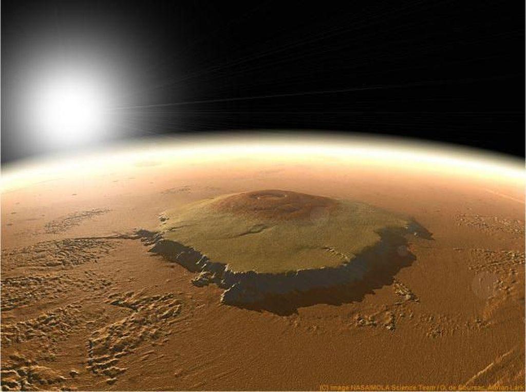 8 Destinasi di Mars yang Patut Dikunjungi