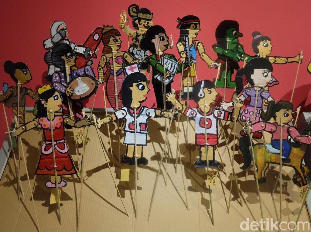 Peringati Hari Anak Nasional, Festival Seni Rupa Anak Indonesia Dibuka