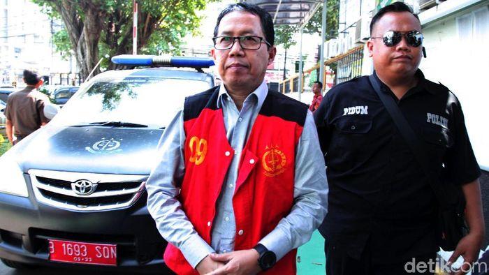 Joko Driyono dinyatakan bersalah dan divonis 1,5 tahun penjara (Lamhot Aritonang)