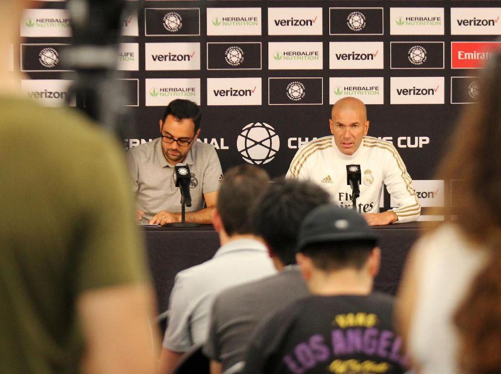 Zidane: Saya Bukannya Tidak Menghormati Bale, Tapi...