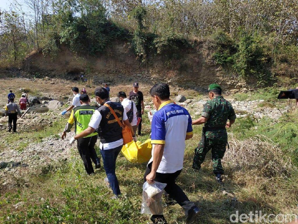 Mayat Ditemukan di Bawah Jembatan Ponorogo Diduga Korban Pembunuhan