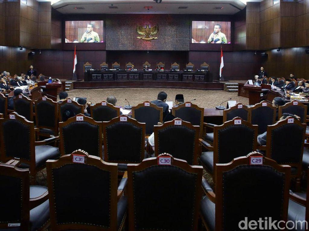 Sidang Sengketa Pileg 2019 Masih Berlanjut di Mahkamah Konstitusi
