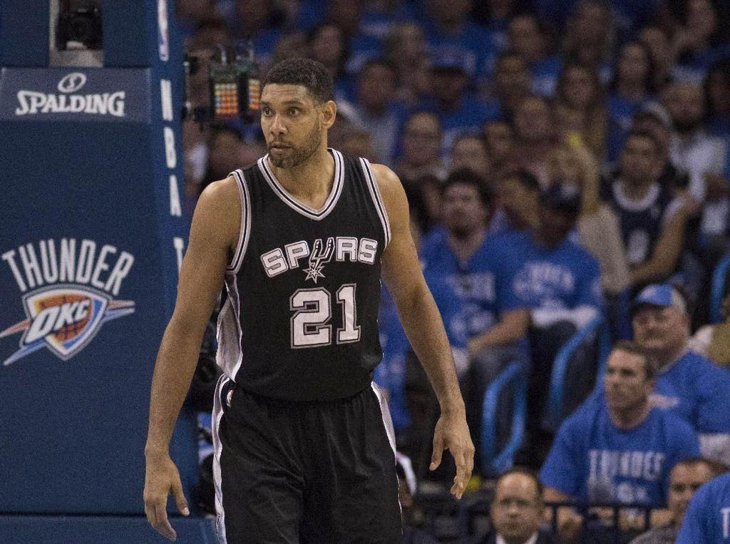 Balik ke Spurs, Tim Duncan Jadi Asisten Pelatih