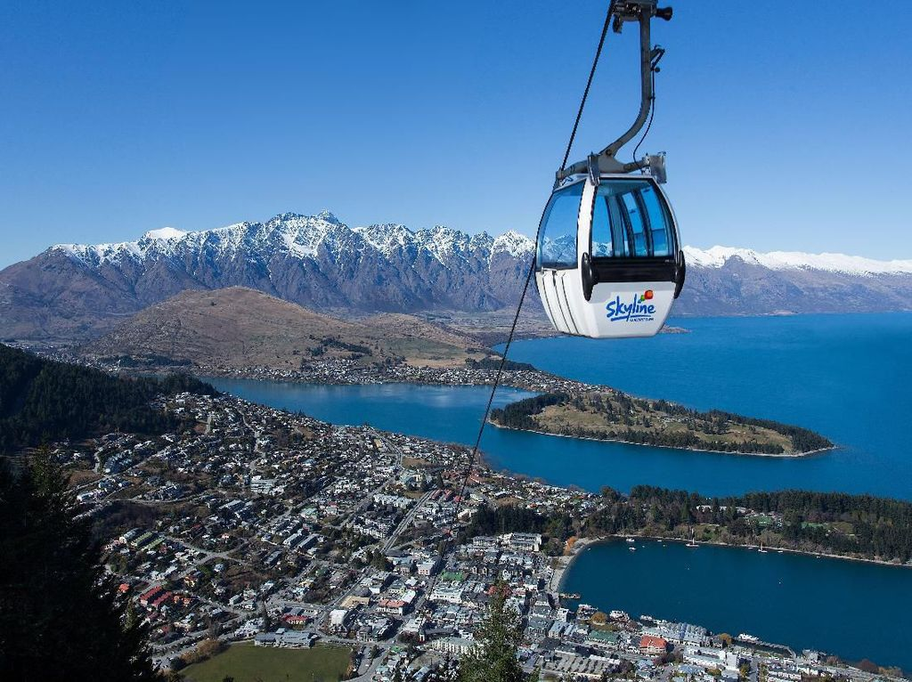 Foto: Tempat Wisata di Selandia Baru untuk Liburan Bareng Anak