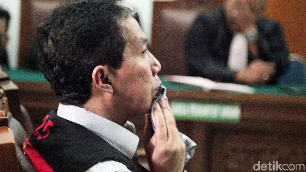 Detik-detik Joko Driyono Divonis 1,5 Tahun Penjara