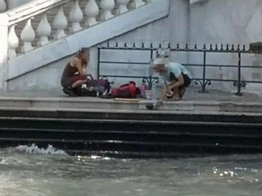 Turis Ini Didenda Rp 14,8 Juta karena Bikin Kopi di Pinggir Sungai Venesia