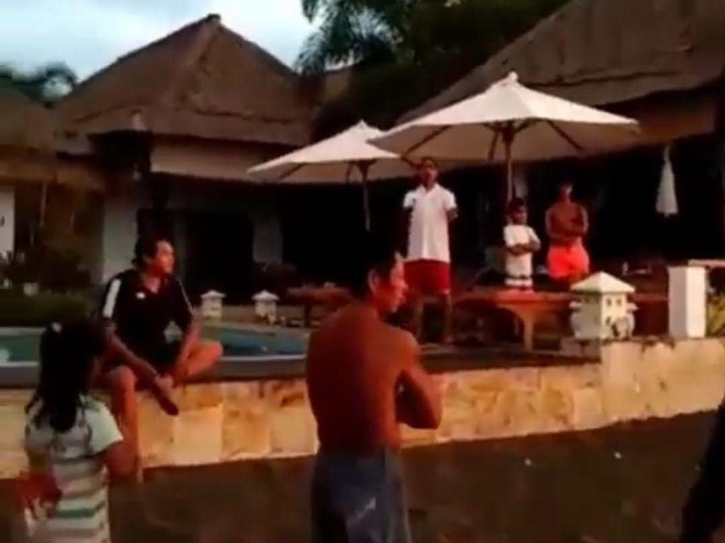 Heboh Turis Usir Warga yang Main di Pantai Buleleng Bali