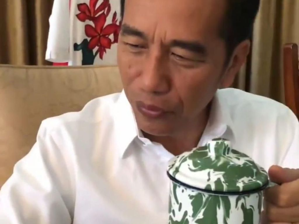 Jokowi Minum Jamu Ini Sampai 3 Kali Sehari, Apa Ya Racikannya?