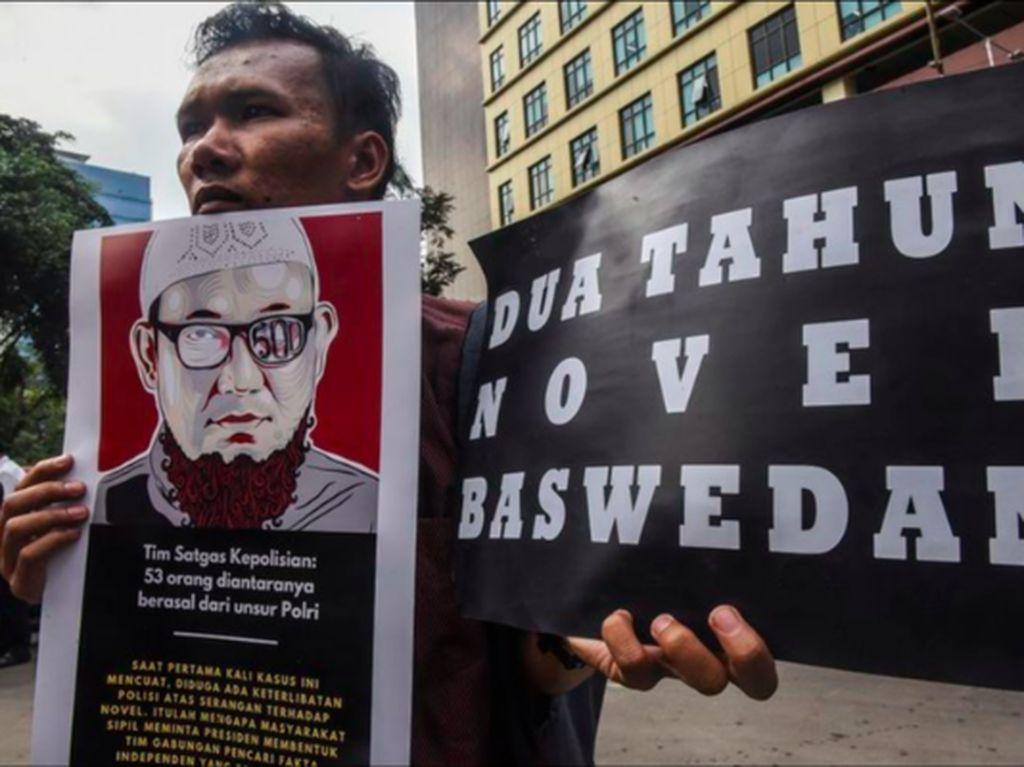 Polisi Tidur Kasus Novel Baswedan