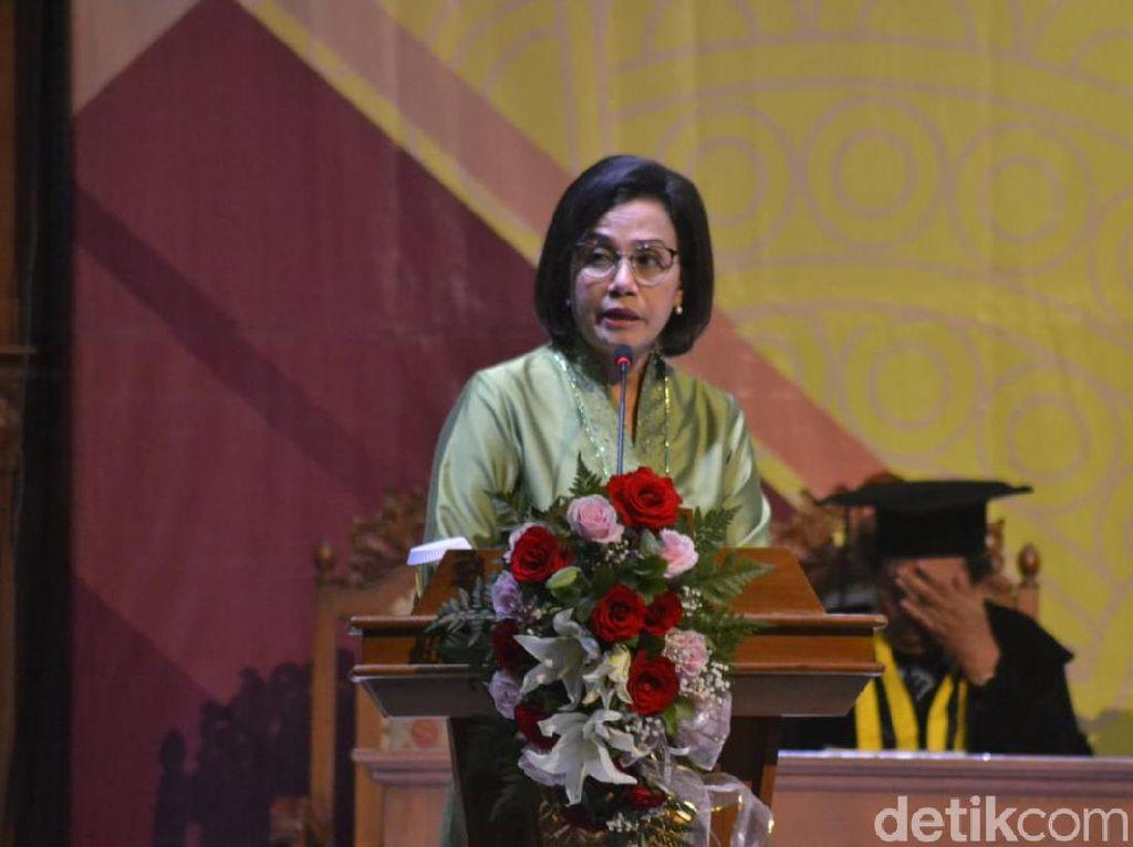 Sri Mulyani Ingatkan Anggota Baru BPK Pegang Sumpahnya