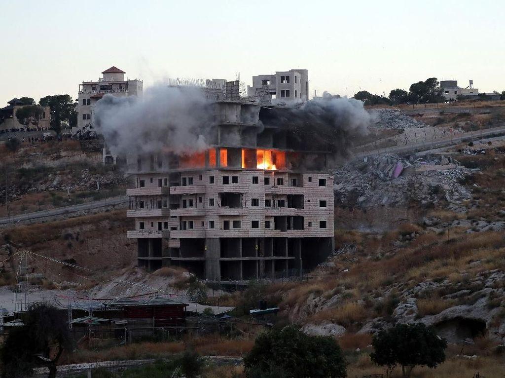 Indonesia Kecam Penghancuran Rumah Warga Palestina oleh Israel