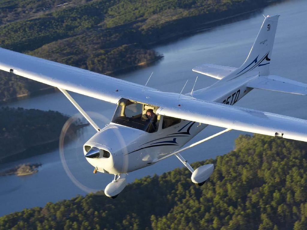 Foto Profil Pesawat Cessna Seperti yang Jatuh di Indramayu