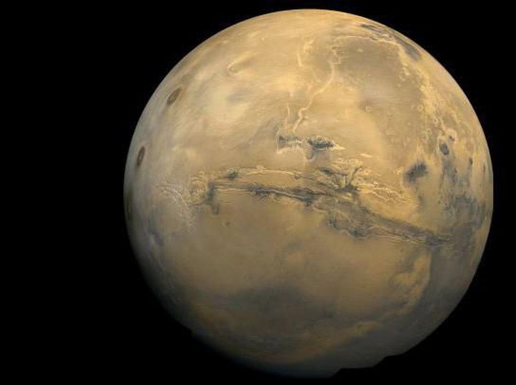 Mungkinkah Manusia Tinggal di Mars? Ini Kata Profesor
