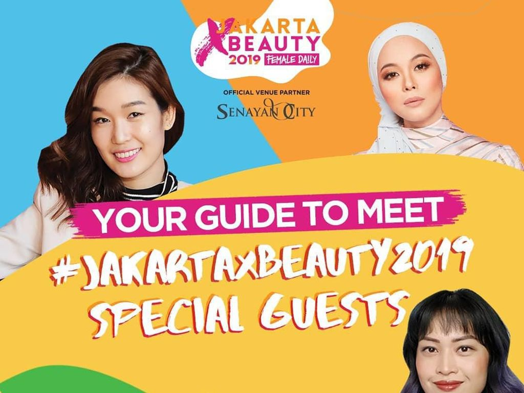 Pameran Kecantikan Jakarta X Beauty Digelar Mulai 26 Juli di Senayan City