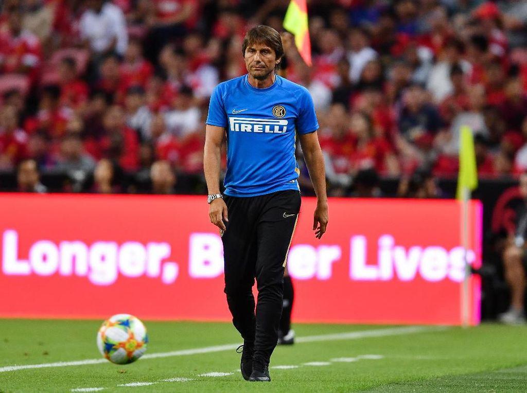 Inter Belum Juga Dapat Striker, Conte Harus Sabar
