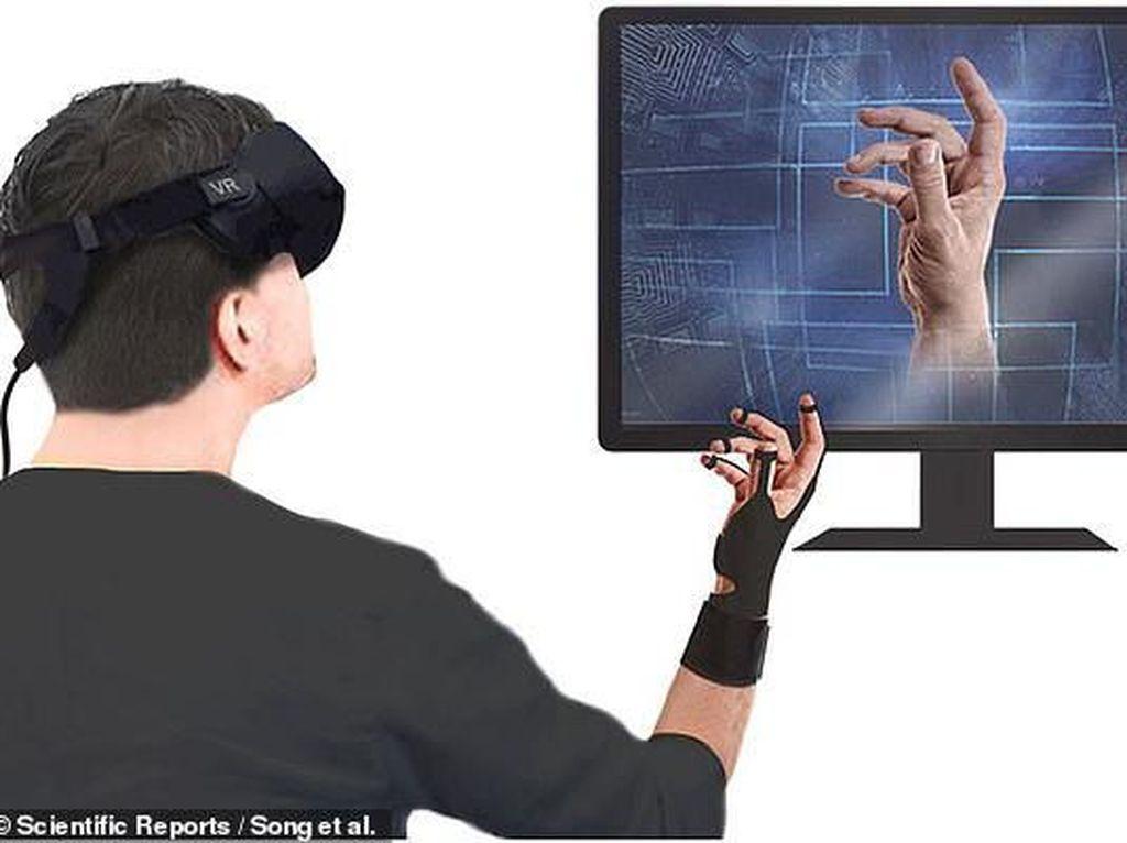 Sarung Tangan Ini Bikin Sentuhan Virtual Lebih Nyata