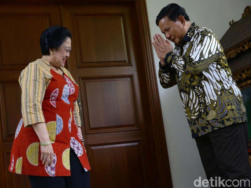 Gerindra Ungkap Isi Pembicaraan Empat Mata Prabowo dan Megawati
