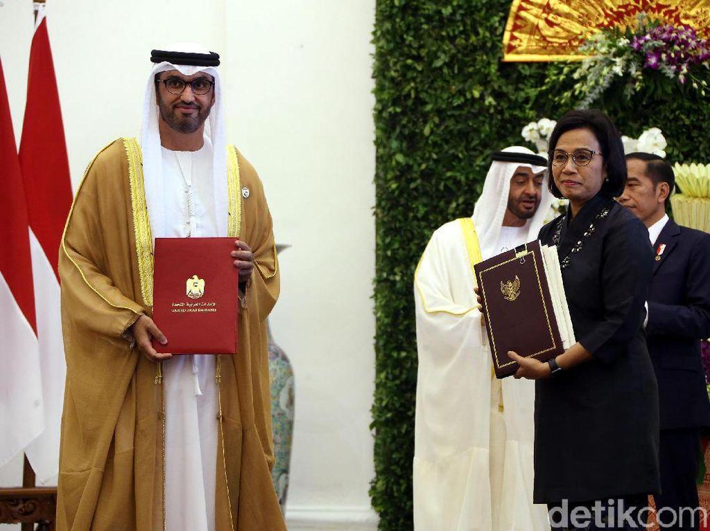 Indonesia-UEA Teken Kerja Sama Bilateral di Berbagai Sektor