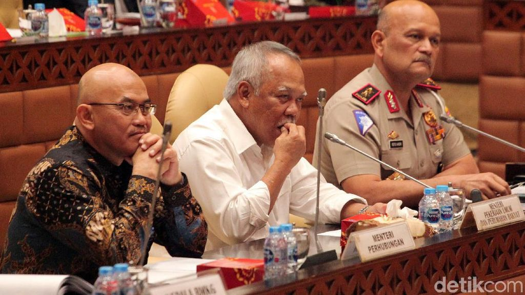 DPR dan Menteri PUPR Bahas Evaluasi Mudik Lebaran 2019