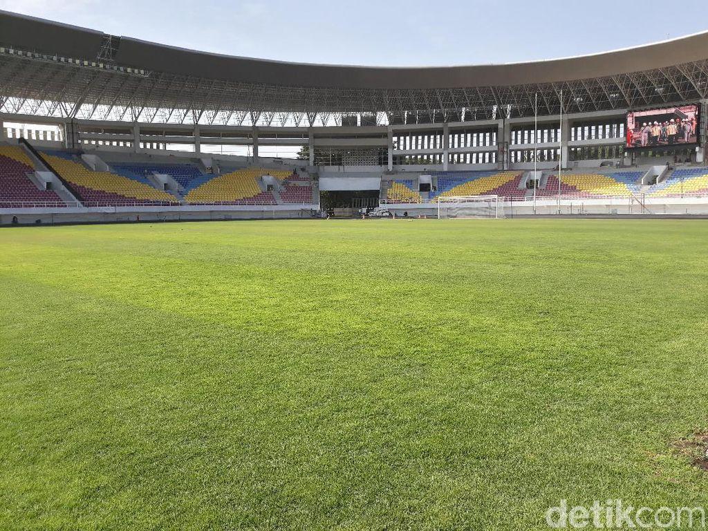 Renovasi Stadion Manahan Capai 83 Persen, Begini Penampakannya