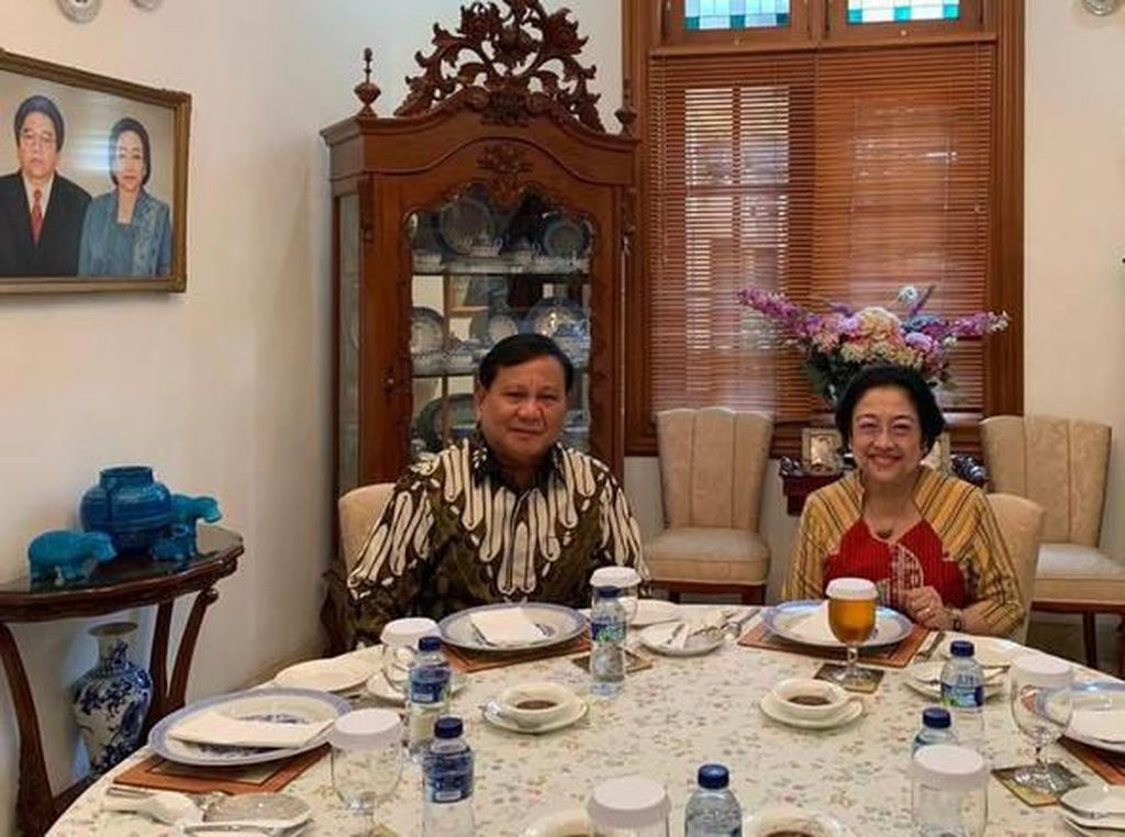 Prabowo Puji Nasi Goreng dan Bakwan Sayur Buatan Megawati
