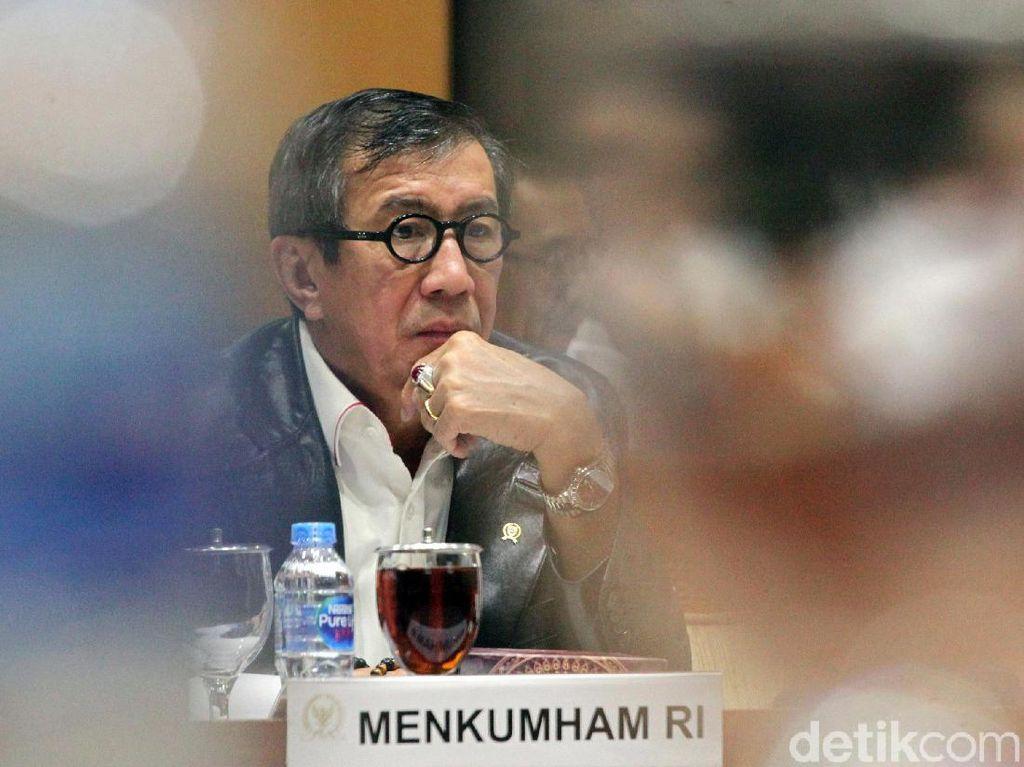 Menkum HAM dan Komisi III Bahas Amnesti untuk Baiq Nuril