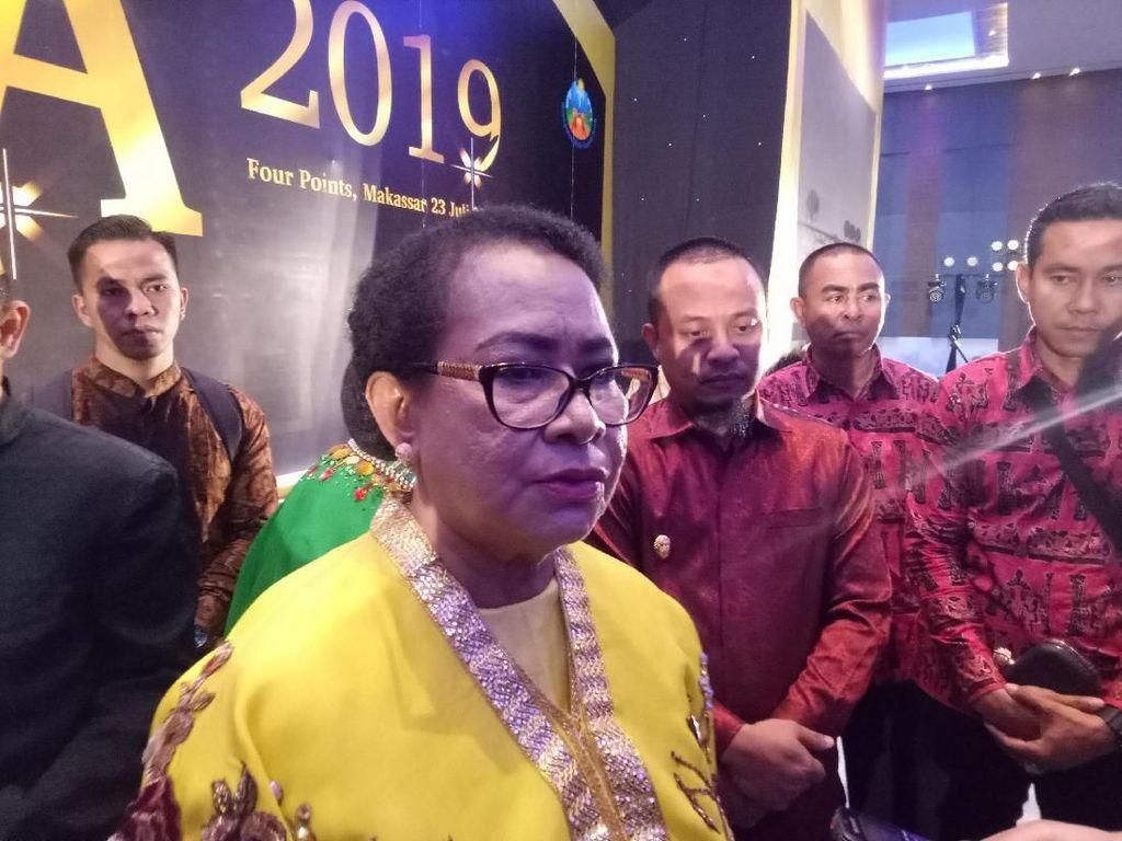 Soal Ikan Asin, Menteri Yohana Imbau Masyarakat Jaga Ucapan