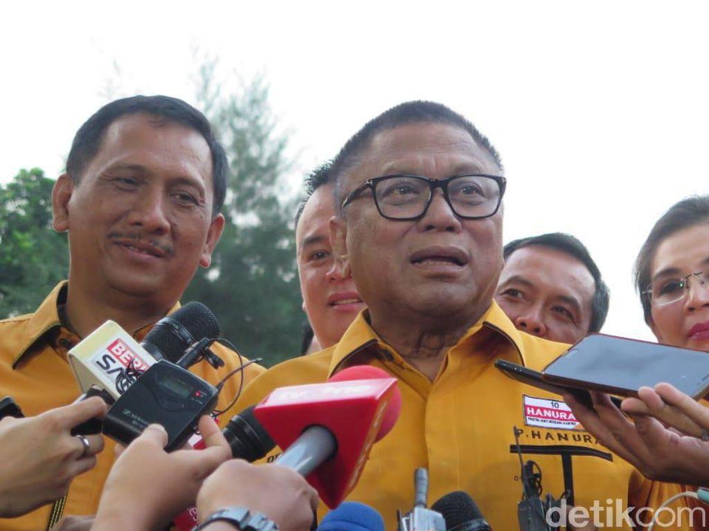 Hanura tak Masuk Kabinet, Oesman Sapta: Nggak Masalah, Hak Presiden