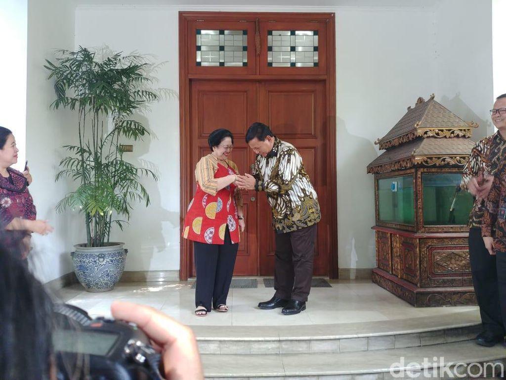 Prabowo Undang Megawati Jalan-jalan di Hambalang