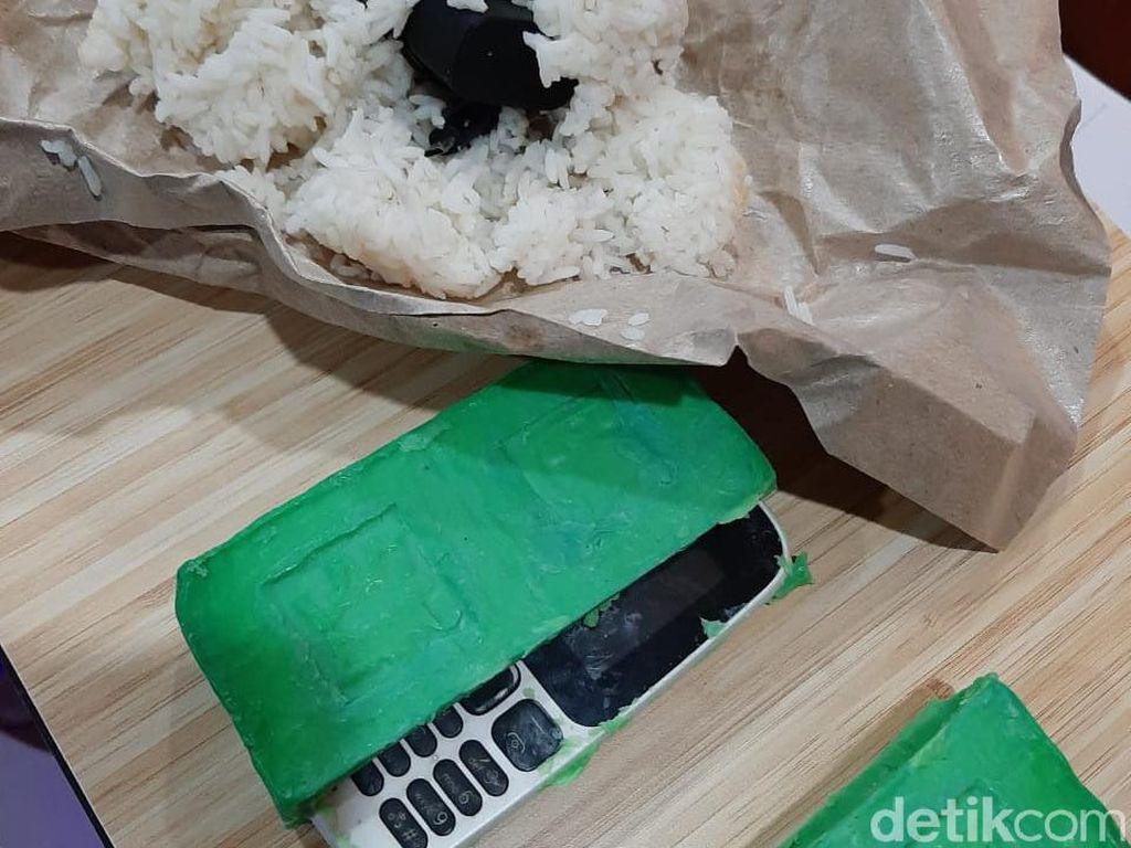 150 HP Disita di Lapas Medan, Ada yang Disembunyikan di Nasi dan Bungkus Mi