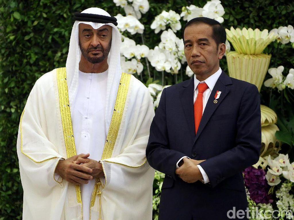 Datang ke RI, Pangeran Abu Dhabi Boyong Investasi Rp 136 T