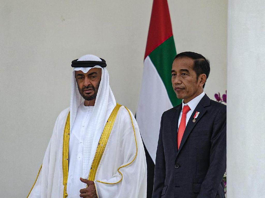 Bertemu Jokowi, Putra Mahkota Abu Dhabi Disuguhi Salak dan Durian