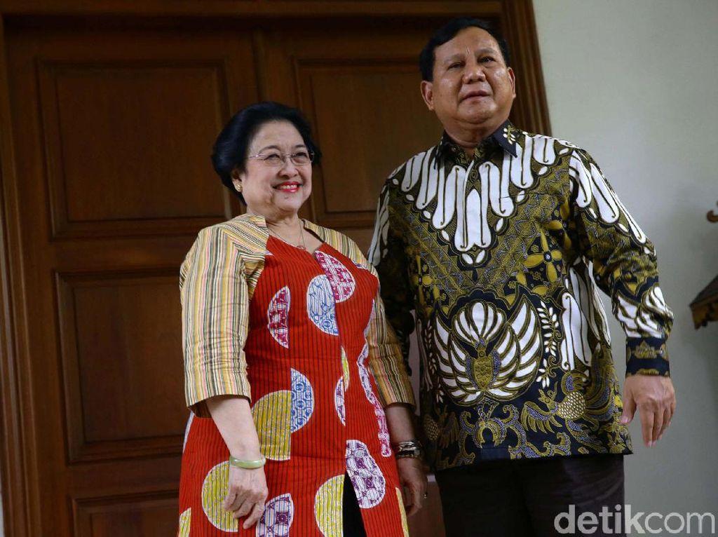 Alasan Prabowo Legawa Tak Kejar MPR-1, Gerindra: Simpatik ke Megawati