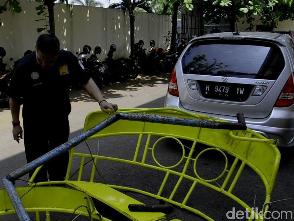 Polisi Sita Besi Wahana yang Patah dan Tewaskan 1 Remaja di Pekalongan