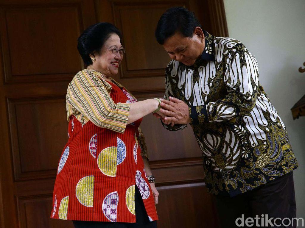 Gerindra Yakin Banyak Masyarakat yang Dukung Pertemuan Prabowo-Megawati