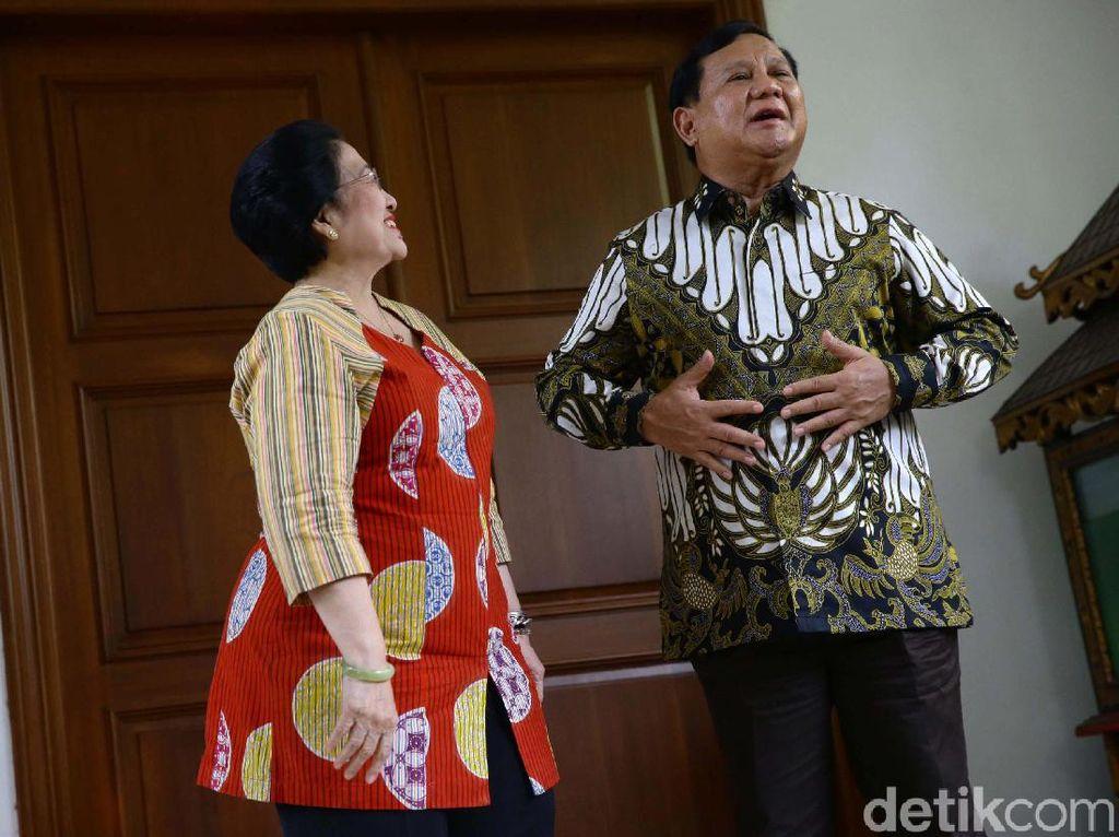 Menilik Syarat Prabowo Diusung PDIP di Pilpres 2024
