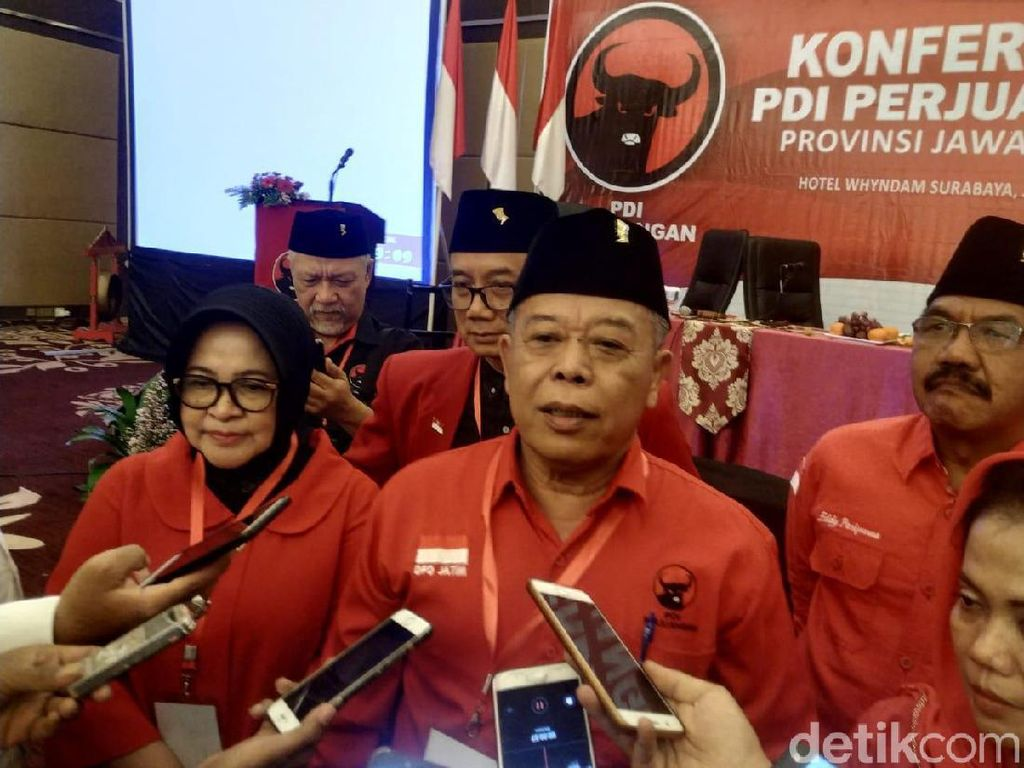 PDIP Jatim Kembali Calonkan Megawati Sebagai Ketua Umum