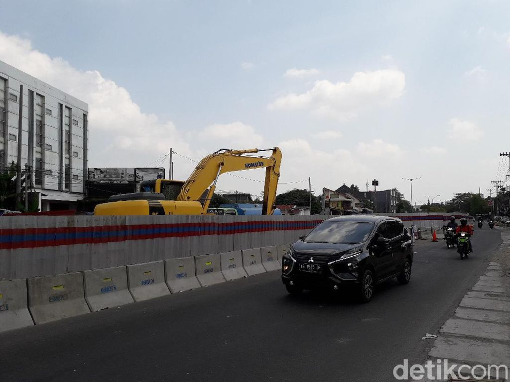 Lokasi Land Rover Terguling di Underpass Kentungan Sudah Dibuka